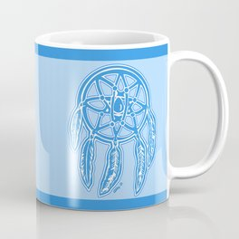 Blue Dreamcatcher Illustration Coffee Mug
