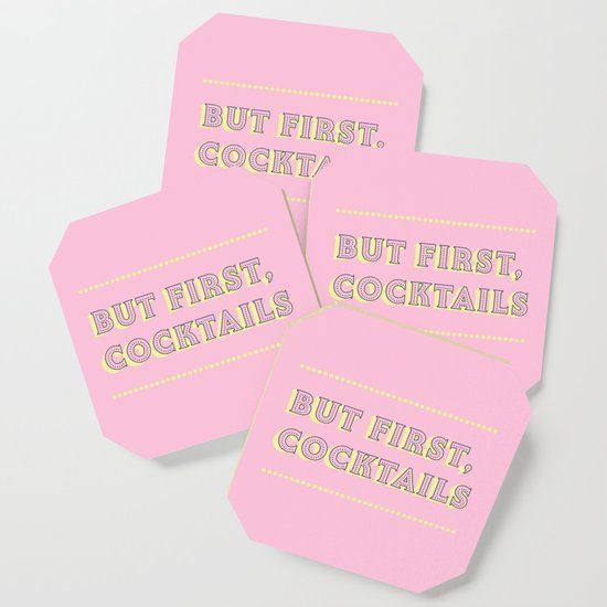 Pastel Pink Party Cocktails by happyplum