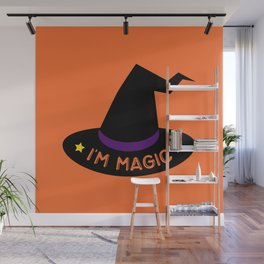 Magic Witch Hat Wall Mural