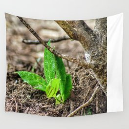 New Green Life Wall Tapestry