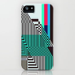 Glitch by Kimberly J Graphics iPhone Case