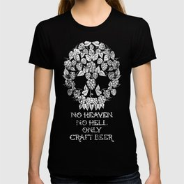 HEAVEN HELL AND CRAFT BEER T-shirt