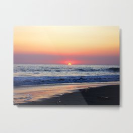 Sunset at Manuel Antonio Metal Print