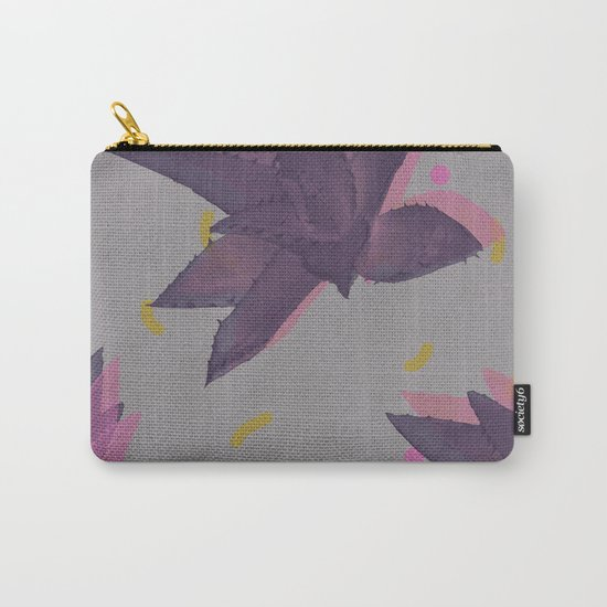 Aloe pattern Carry-All Pouch