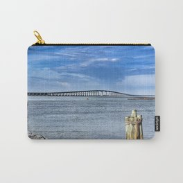 Bridge to sand and sea Carry-All Pouch