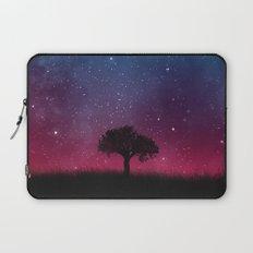 Tree Space Galaxy Cosmos Laptop Sleeve