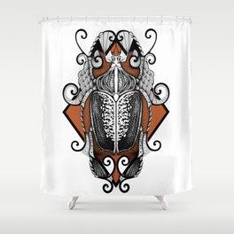 Goliathus Shower Curtain