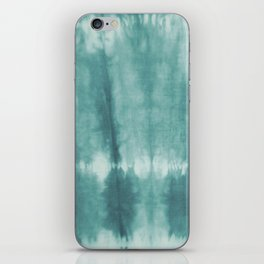 TyeDyeTeal iPhone Skin