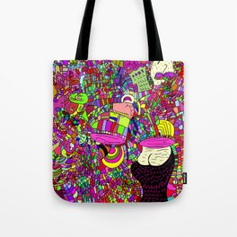 """The upside down"" Tote Bag"