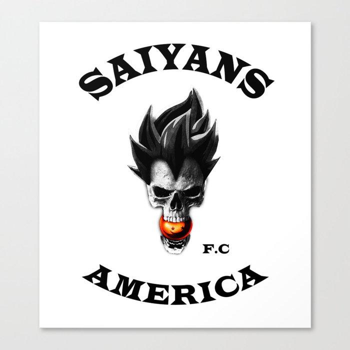 SoA; SAIYANS FC AMERICA v1 Canvas Print