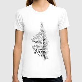 Inspirational Feather T-shirt