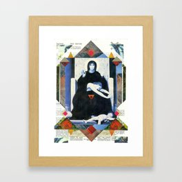 Vergine consolatrice Framed Art Print