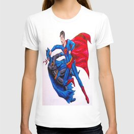 Final Showdown: Superhero Edition T-shirt