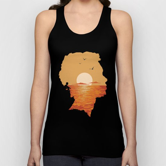 Caved In Unisex Tank Top