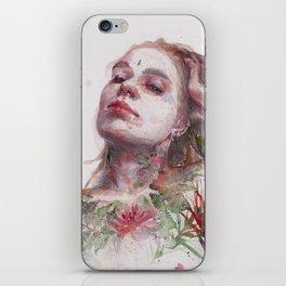 Leaves on Skin iPhone Skin