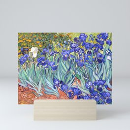 Vincent Van Gogh Irises Mini Art Print