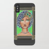 great gatsby iPhone & iPod Cases featuring Great Gatsby by Jaymee Laws