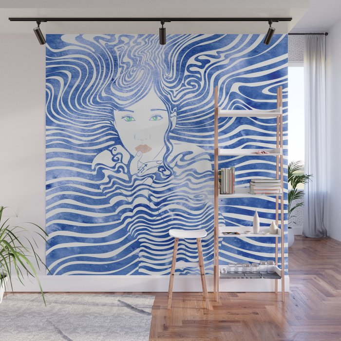 Water Nymph XLIII Wall Mural
