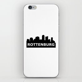 Rottenburg Skyline iPhone Skin