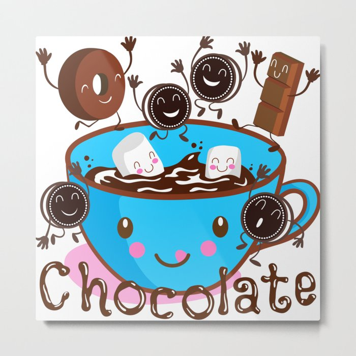 Hot Chocolate fun! Metal Print