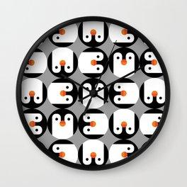 The Penguin Club Wall Clock