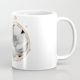 Coffee Stain Magnolia Flower-Louisiana Series Coffee Mug