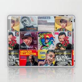 Old Records Laptop & iPad Skin