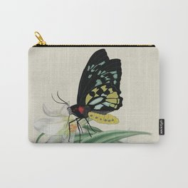 Butterfly Lily Carry-All Pouch