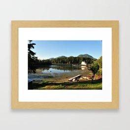 spring cove. Framed Art Print