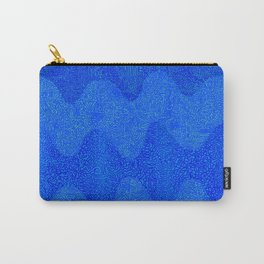 Under the Influence (Marimekko Curves) Feeling Blue Carry-All Pouch