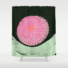 The Blossom of Peace Shower Curtain