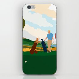 Golf In Ireland iPhone Skin
