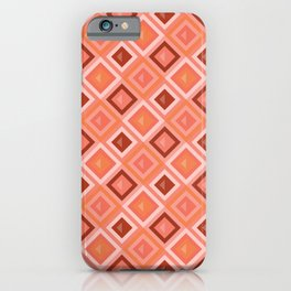 OUT OF THE BOX, CORAL iPhone Case