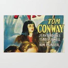 Vintage Movie Posters, The 7th Victim Rug