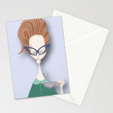 Mrs 5 O'clock Stationery Cards