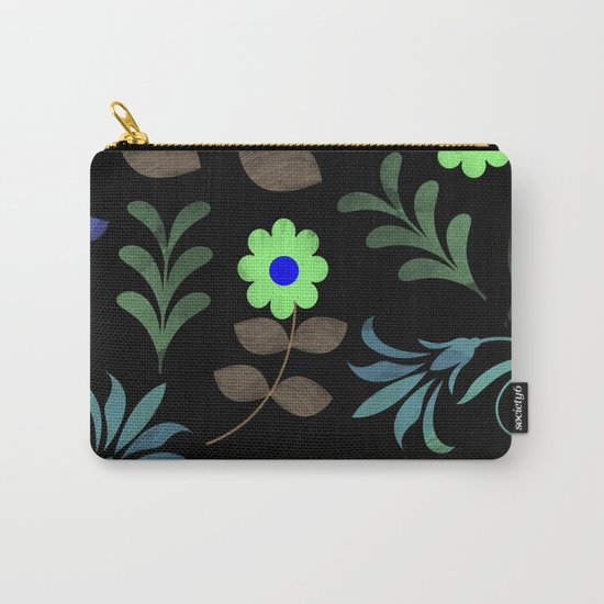 Flower Pattern XI Carry-All Pouch