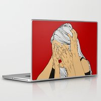 introvert Laptop & iPad Skins featuring Introvert 4 by Heidi Banford