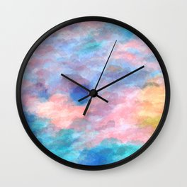 The Elated Omission Wall Clock