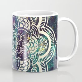 Galaxy Mandala : Deep Pastels Coffee Mug