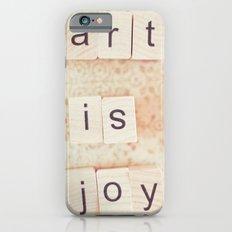 Art Is Joy iPhone 6 Slim Case