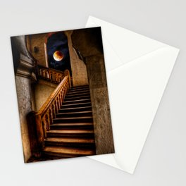 KTM Stairway Moon Stationery Cards