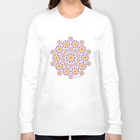 sun and moon Long Sleeve T-shirts featuring Sun, Moon and Stars by artsytoocreations
