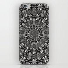 Monochrome Mandala iPhone & iPod Skin