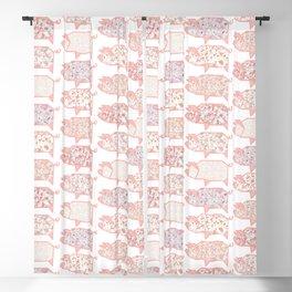 Pig Terrazzo Blackout Curtain