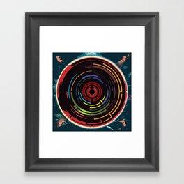 We Come Undone Framed Art Print