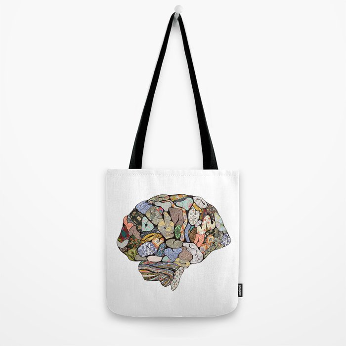 my brain looks different Tote Bag