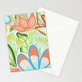 Floral Happiness Stationery Cards