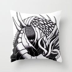 Embraced By Sleep Throw Pillow