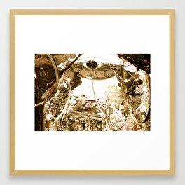 Arch of Spokes Framed Art Print