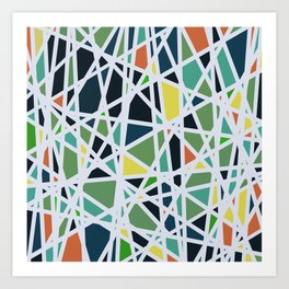 Abstract Composition 519 Art Print